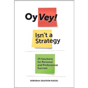 Oy Vey! Isn't a Strategy.  But it's a Darn Good Read.
