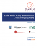 Social Media Policy Workbook for Jewish Organizations